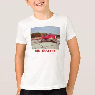 La camiseta del niño del instructor del MiG