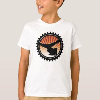 La camiseta del niño del molino de viento de BBOY