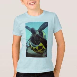 La camiseta del niño del rayo P-47