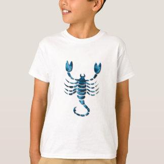 La camiseta del niño del zodiaco del escorpión