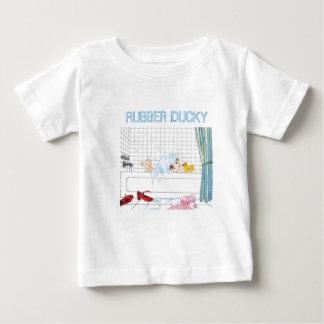 La camiseta del niño Ducky de goma Playera