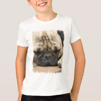 La camiseta del niño durmiente del barro amasado polera