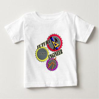 La camiseta del niño futuro del ingeniero polera