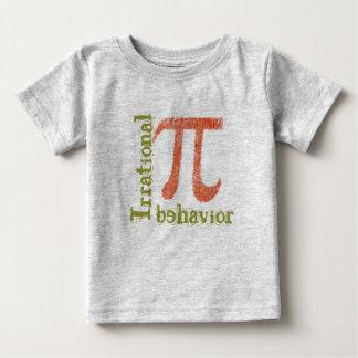 La camiseta del niño irracional del comportamiento playeras