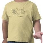 La camiseta del niño lindo