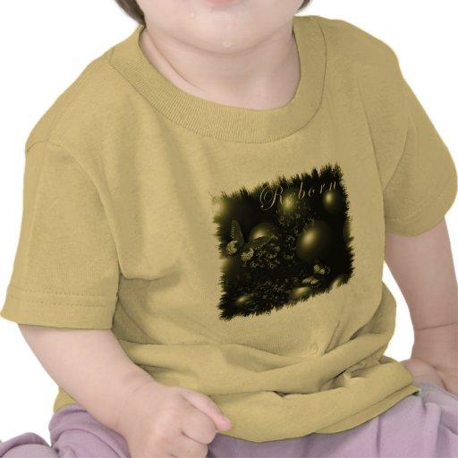 La camiseta del niño renacido del navidad