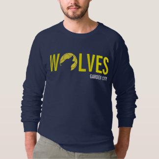 La camiseta del partidario de los hombres polera
