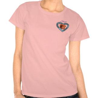 La camiseta del rescate de Bonnie de la mujer azul