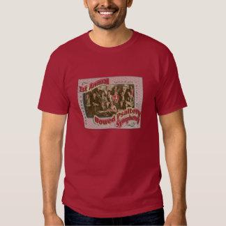 La camiseta del salterio de los hombres arqueados playeras