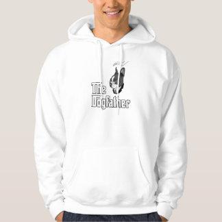 La camiseta del terrier de Boston, persigue la Jersey Encapuchado
