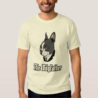 La camiseta del terrier de Boston, persigue la Poleras