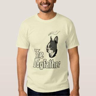 La camiseta del terrier de Boston, persigue la Remeras