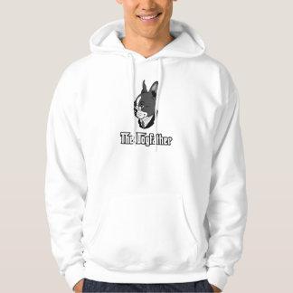 La camiseta del terrier de Boston, persigue la Sudaderas