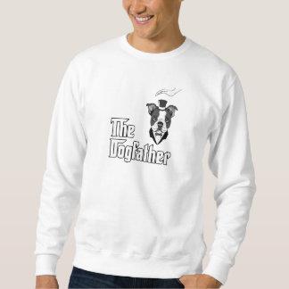 La camiseta del terrier de Boston, persigue la Sudaderas Encapuchadas
