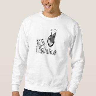La camiseta del terrier de Boston, persigue la Suéter