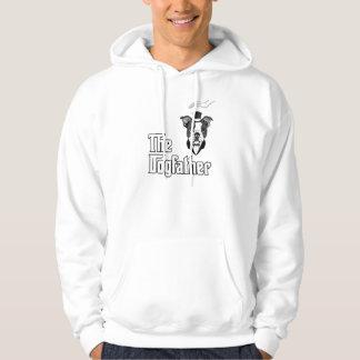 La camiseta del terrier de Boston, persigue la Suéter Con Capucha