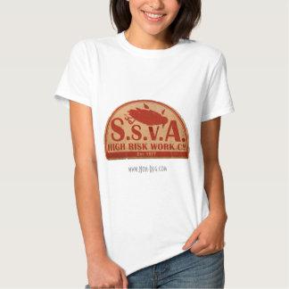 La camiseta del trabajo de SSVA de las mujeres de Remera