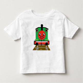 La camiseta del tren del motor del tanque