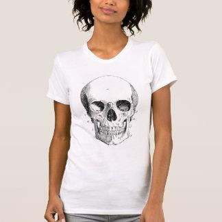 La camiseta destruida de las mujeres del diagrama camisas