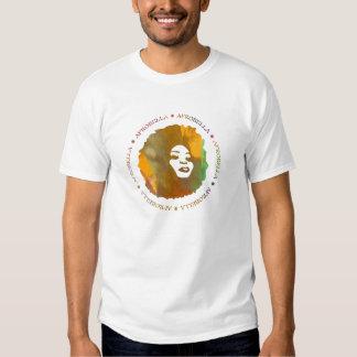 La camiseta destruida de los hombres de Afrobella Playeras