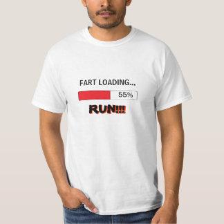 La camiseta divertida para los hombres FART