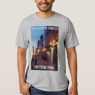 La camiseta dual compleja del Blacktop combinada Camisas