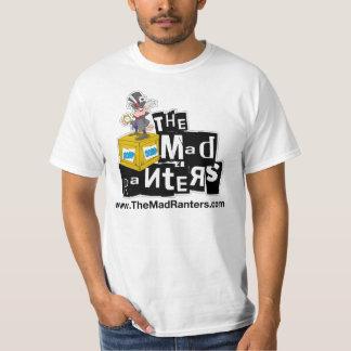 La camiseta enojada del funcionario de los Ranters Polera