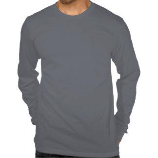 La camiseta envuelta larga de los hombres de la na