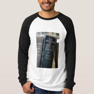 La camiseta envuelta larga de los hombres humanos camisas