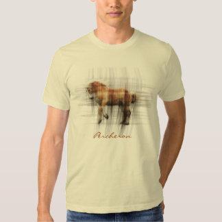 La camiseta equina de los Caballo-amantes del proy Playera