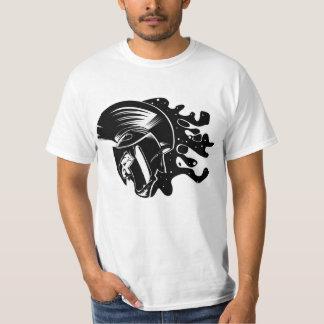 La camiseta espartano del diseño