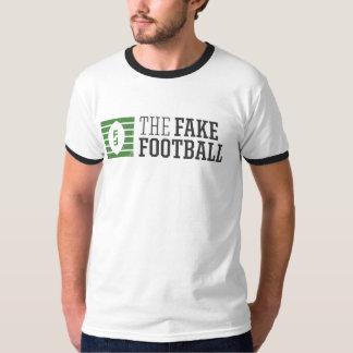 La camiseta falsa del campanero del fútbol playeras