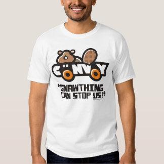 La camiseta GNAWTHING de los hombres del CONVOY Camisas