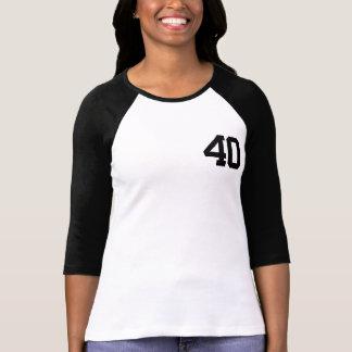 La camiseta GRANDE de 40 CUMPLEAÑOS