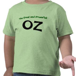 La camiseta grande y potente de la onza