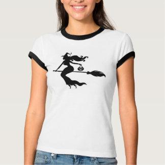 La camiseta Halloween de las mujeres felices de la