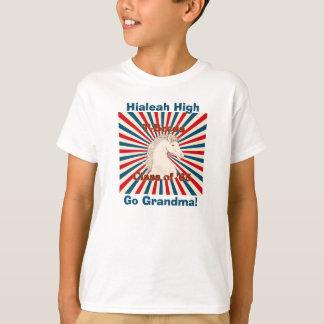 ¡La camiseta Hialeah alto T-breds del niño va