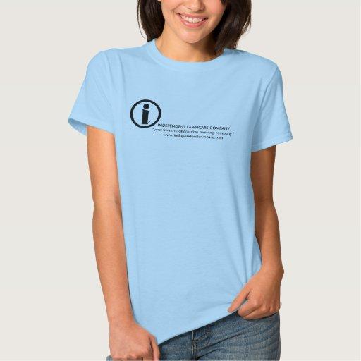 la camiseta independiente de las mujeres del camisas