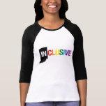La camiseta larga de las mujeres inclusivas de