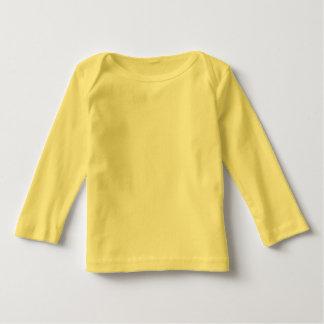 La camiseta larga DIY de la manga del bebé añade