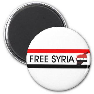 La CAMISETA libera Siria Imán Redondo 5 Cm