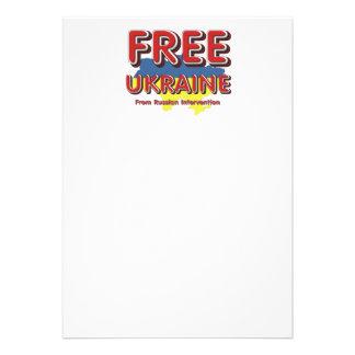 La CAMISETA libera Ucrania Invitacion Personal