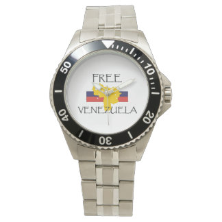 La CAMISETA libera Venezuela Relojes De Pulsera