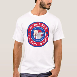 La camiseta ligera de los hombres de Melvin T.