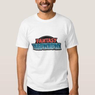 La camiseta ligera de los hombres del Throwdown de Poleras