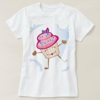 La camiseta linda de las mujeres rosadas y remera