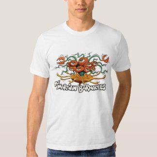 La camiseta marciana del blanco de las lapas playera