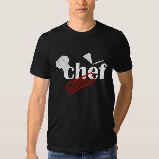 La camiseta más grande de los mundos del chef de poleras