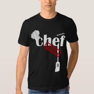 La camiseta más grande del mundo del cocinero de poleras