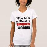 La camiseta más hungover de la mujer del mundo